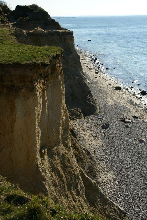 Steilküste in Ahrenshoop
